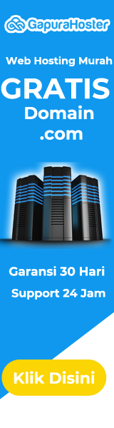 Web Hosting Murah Gratis Domain .com Garansi Uang Kembali 100%