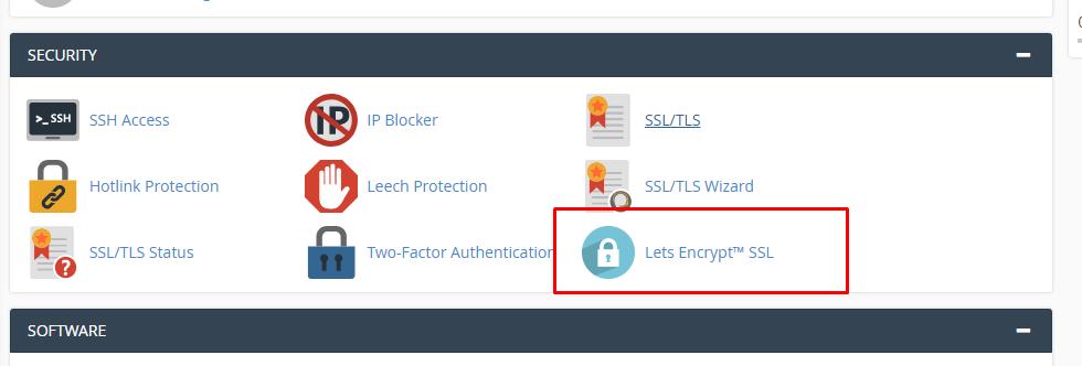 Install lets encrypt