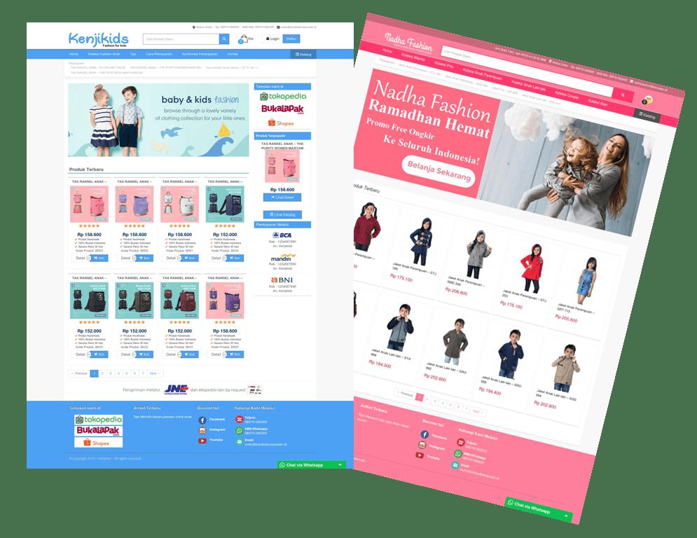 jasa pembuatan toko online gapurashoper