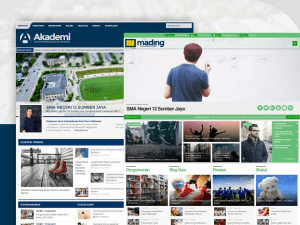 website sekolah siap pakai Gapurahoster