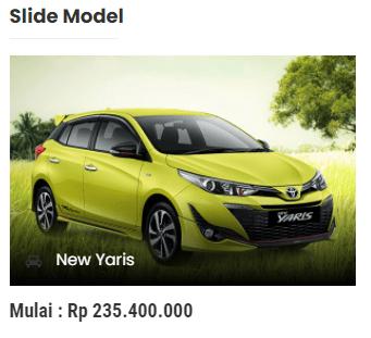 slide mobil website dealer jasa pembuatan website sales mobil
