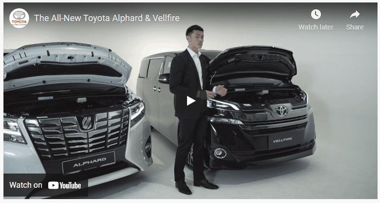 fitur video youtube kendaraan yang diberikan pada jasa pembuatan website sales mobil